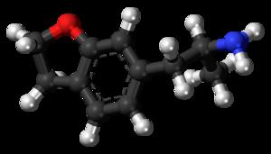 6-APDB - Image: 6 APDB molecule ball