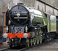 60163 Tornado at Tyseley Locomotive Works Tyseley 101 Gala 28 June 2009 pic 6.jpg