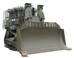IDF Caterpillar D9 armored bulldozer