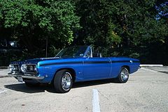 1967 Plymouth Barracuda Kabriolet
