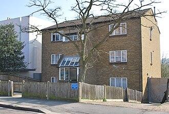 Bon Scott - 67 Overhill Road, East Dulwich, London, the site of Bon Scott's death