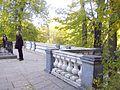694. Pushkin Mountains. Svyatogorsky monastery. Terrace of the Assumption Church.jpg