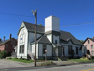 National Register of Historic Places listings in Kennebec County, Maine - Image: 70 State Street, Augusta ME