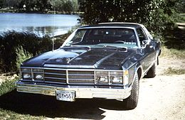 Una Chrysler LeBaron coupé del 1979