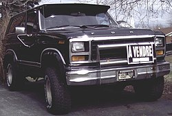 Ford Bronco (1980–1982)