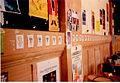 84 têtes de Boeuf aquarellé affichées dans la caféteria des Beaux-Arts le 2 mai 1997 - 1.jpg