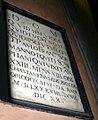 9505 - Milano - S. Angelo - Lapide Paolo Franc.co Sormani (†1580) - Foto Giovanni Dall'Orto 22-Apr-2007.jpg