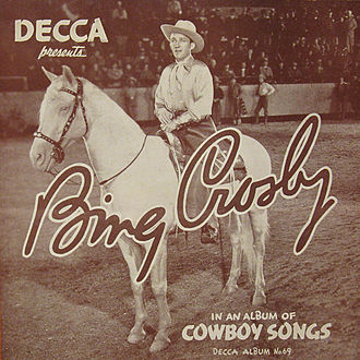 Cowboy Songs (Bing Crosby album) - Image: A 69 Cowboy Songs