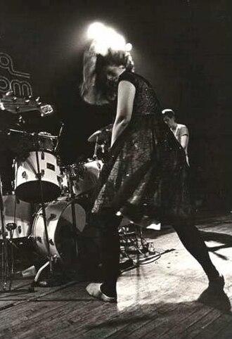 Pylon (band) - Pylon onstage, 1981.