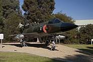 A3-41 Dassault Mirage III after the completion of the restoration work