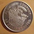 ALUMINUM COMPANY of CANADA, 1960's -ALUMINUM MEDALLION a - Flickr - woody1778a.jpg