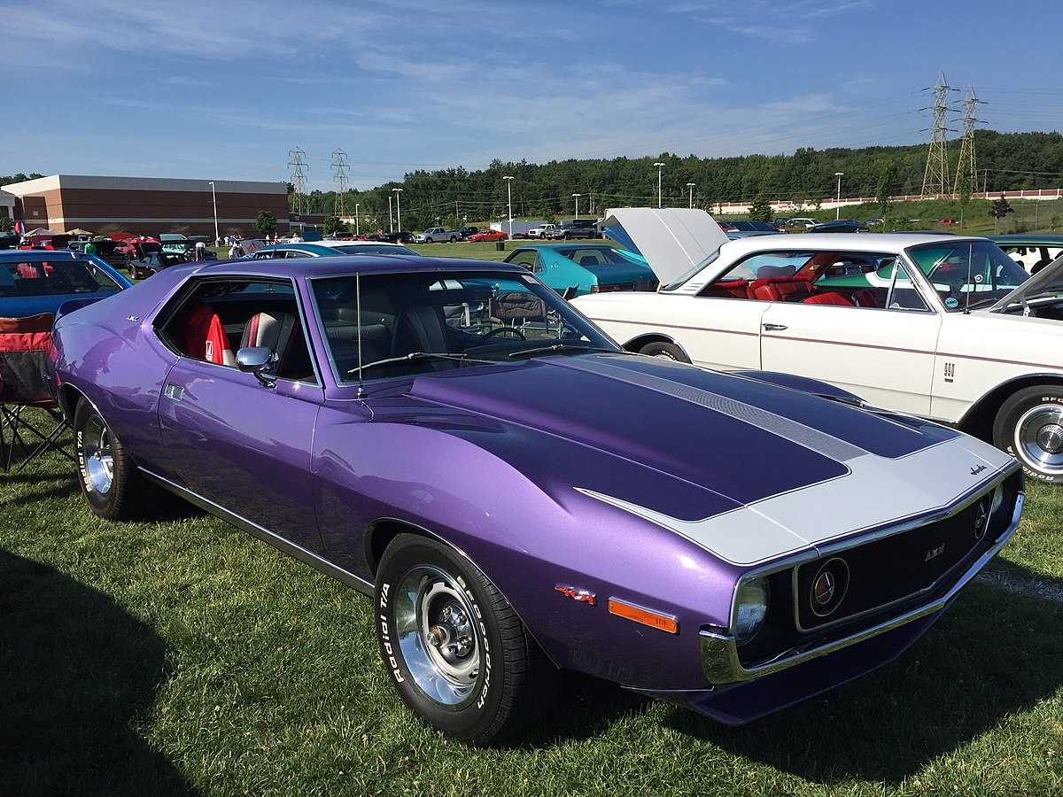 Px Amc Javelin Amx With Speed And Cardin At Amo Meet Of