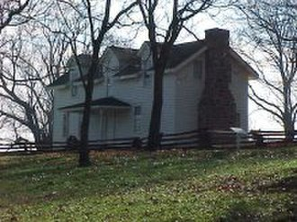 Battle of Prairie Grove - Borden House on the Prairie Grove Battlefield