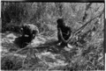 ASC Leiden - Coutinho Collection - 14 12 - Campada college on the northern frontline, Guinea-Bissau - Digging trenches - 1973.tif