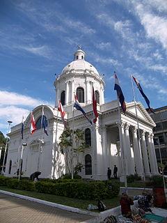 church building in Asunción, Paraguay