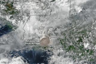 2018 Volcán de Fuego eruption Volcanic eruption in Guatemala