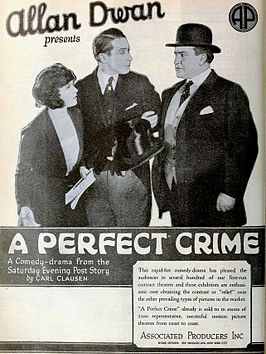 Advertentie voor A Perfect Crime