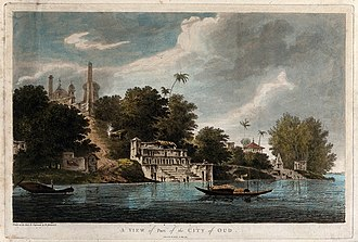 Sapta Puri - A view of Ayodhya in 1783 then called Oudh