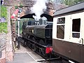 A departure from Bishops Lydeard station - geograph.org.uk - 861032.jpg