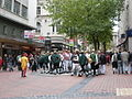 A gathering of morris dancers, Broad Street, Birmingham - geograph.org.uk - 1539165.jpg