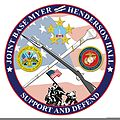 A graphic shows the base logo at Joint Base Myer-Henderson Hall, Va., July 8, 2013 130708-D-NT551-001.jpg