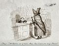 A little boy attempting to serve a customer in a pharmacy. P Wellcome V0010786.jpg