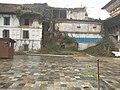 A part of Gaddi Baithak destroyed in Earthquake 2015.jpg