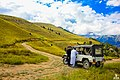 A road to heaven - Road leading towards gol national park chitral KP Pakistan.jpg