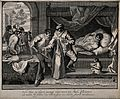A singerie involving a patient being treated with a clyster, Wellcome V0011901.jpg