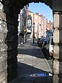 A view of Lower Bridge Street through the Bridgegate - geograph.org.uk - 750652.jpg