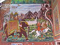 A wall painting on a house mane gate.and rajasthan is a art gallery beneath the open sky. - panoramio.jpg