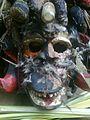 Abagana, Anambra State masquerade, Head.jpg