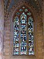 Abbatiale de Romainmôtier - vitrail Christ.jpg