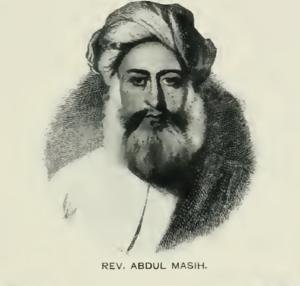 Abdul Masih (missionary) - Rev. Abdul Masih