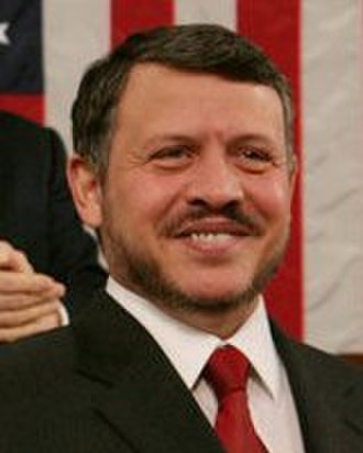 The 500 Most Influential Muslims - Image: Abdullah II of Jordan, 2007March 07 (cropped)
