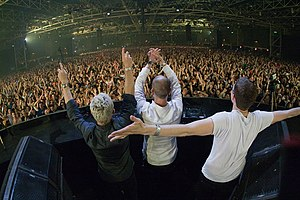 Above & Beyond (band) - Image: Above & Beyond at Trance Energy 2010