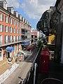 Absinthe House Upstairs Bienville Balcony Riverwards.JPG