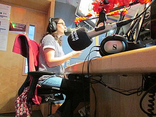 Annabel Port British radio personality