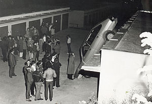 Accident in Uherský Brod (Simca 1307/1308)