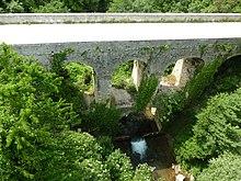 Ponte romano sul Garrafo