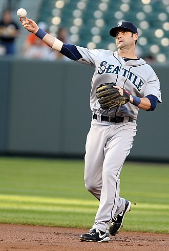 Adam Kennedy - Kennedy with the Mariners in 2011