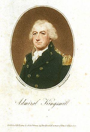 Sir Robert Kingsmill, 1st Baronet - Admiral Sir Robert Kingsmill