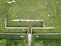 Aerial photograph of batterie de Sermenaz - Neyron - France (drone) - May 2021 (5).JPG