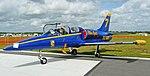 Aero Vodochody L-39 Albatros in Blue Angels colors, Sun'N Fun airshow.jpg