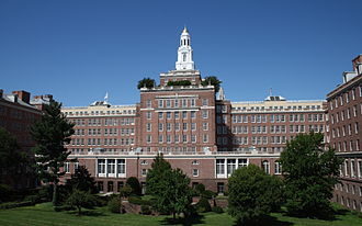 The Harford headquarters of Aetna is housed in a 1931 Colonial Revival building. Aetna building in Hartford, Connecticut 2, 2009-09-02.jpg