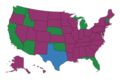 Affirmative Action Policies in the United States by state.png