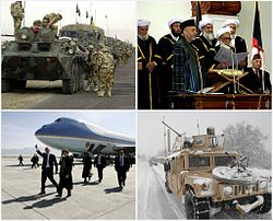 Afghan history from 2003-2008