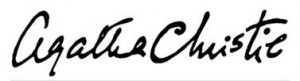 Agatha Christie%27s signature
