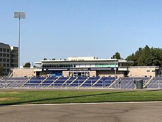 Aggie Stadium (UC Davis) - Image: Aggie Stadium (UC Davis) Press Box