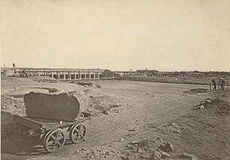 Okhla - Agra Canal headworks at Okhla, 1871